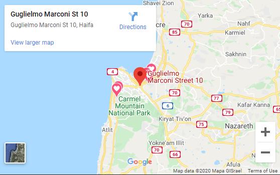 מפה של אזור החנות של טופ קיטשן